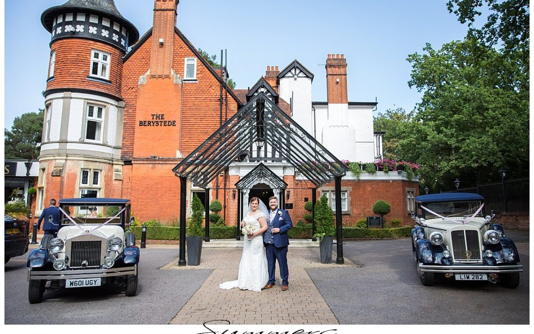 Berystede Hotel Ascot Wedding Photographer: Laura and Ross