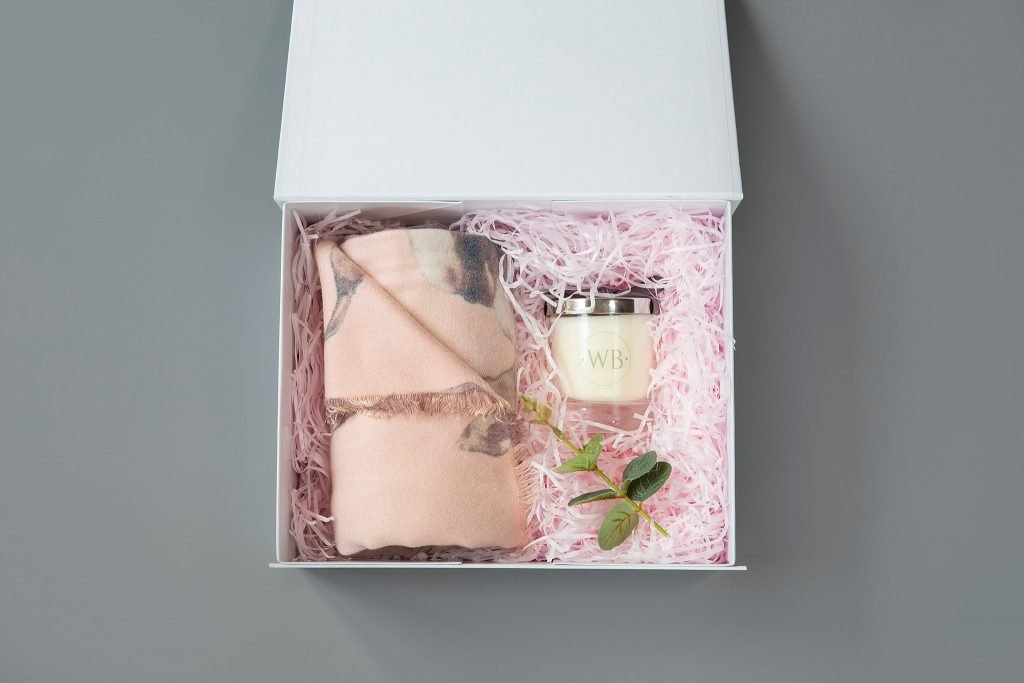 Personal brand photography product photography gift boxes