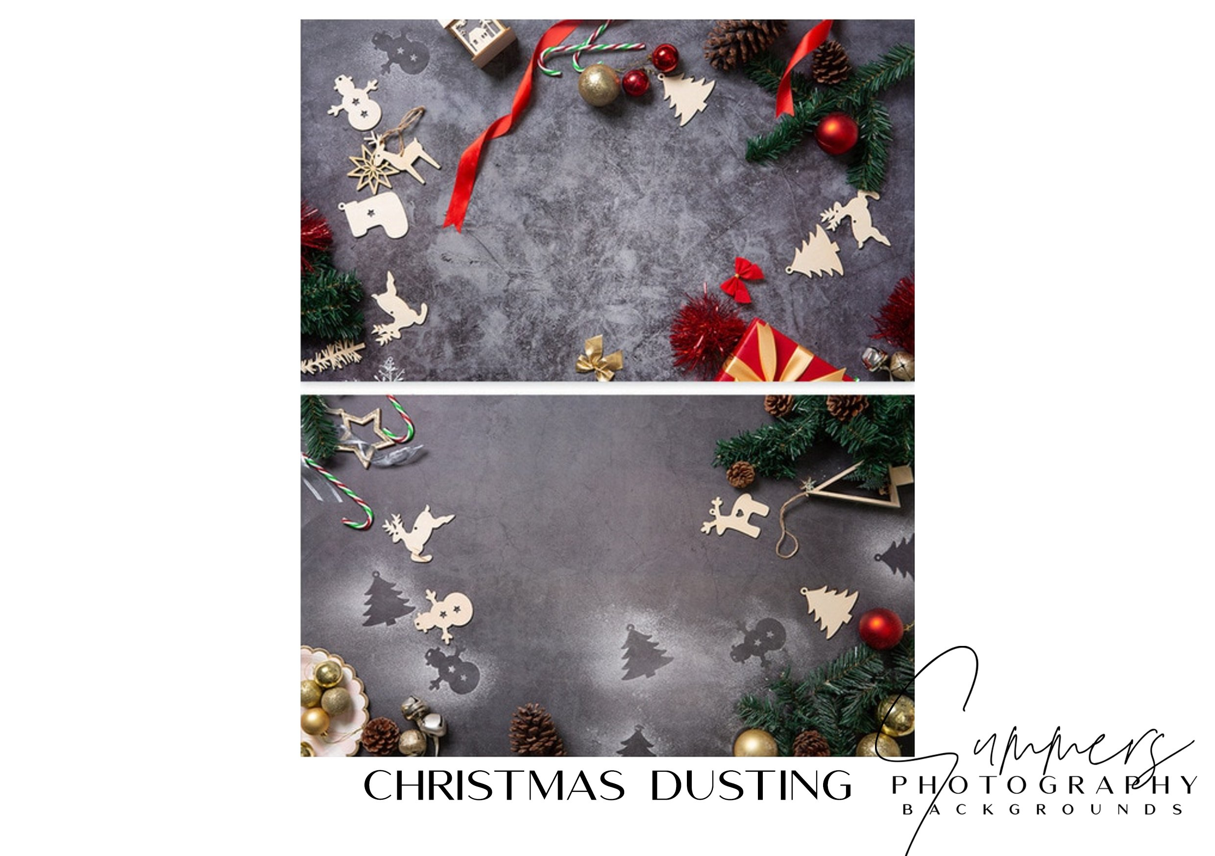 Photography Backgrounds Christmas Dusting