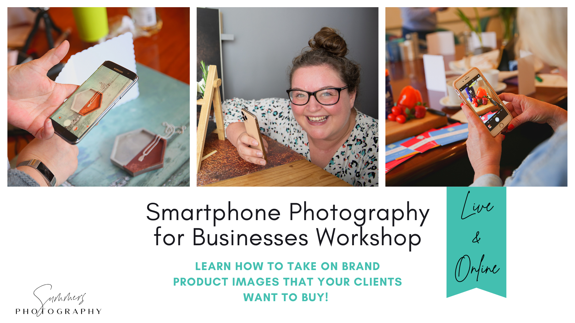 Photography Courses Smartphone Photography for Businesses Workshop