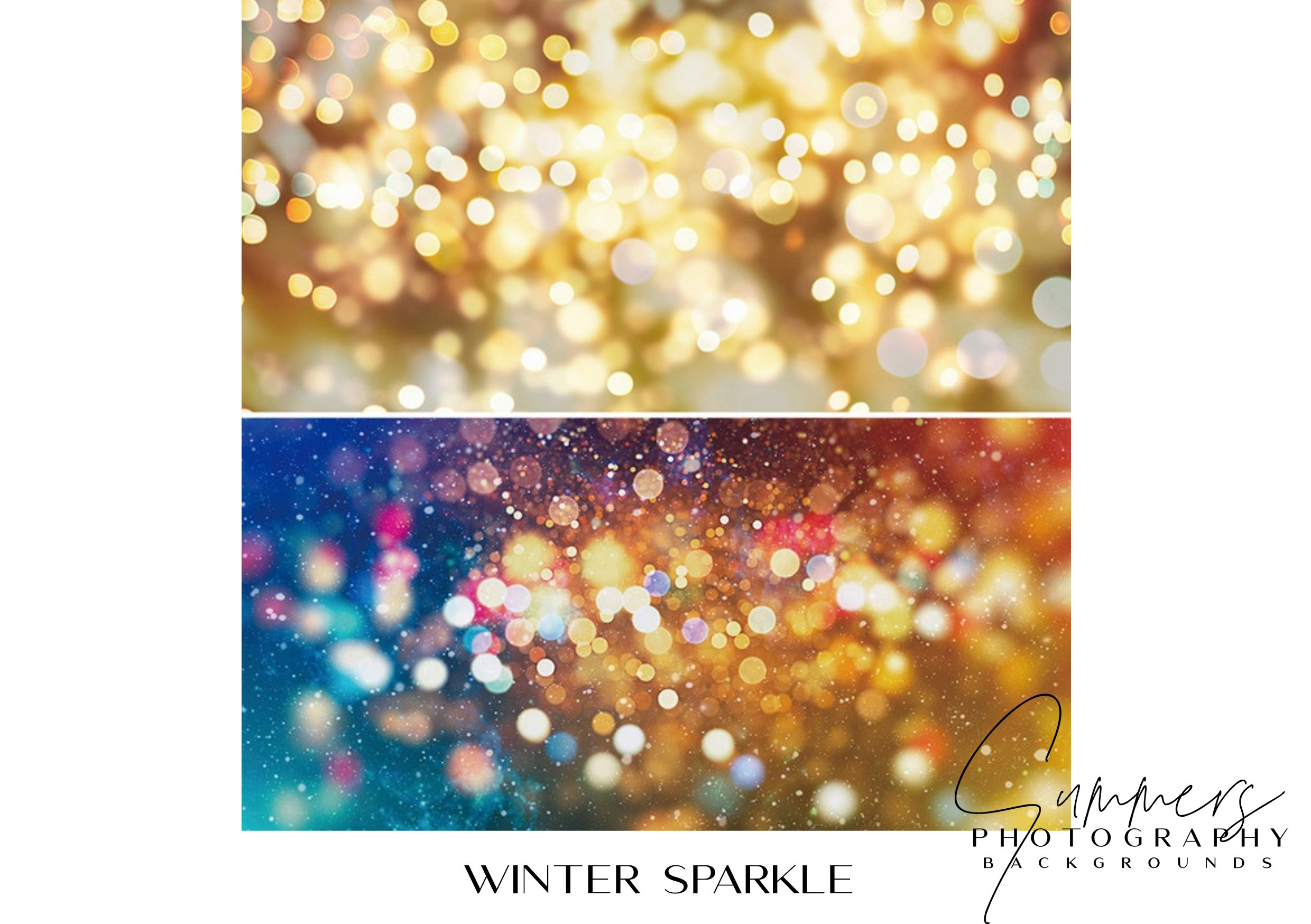 Photography Backgrounds Winter Sparkle