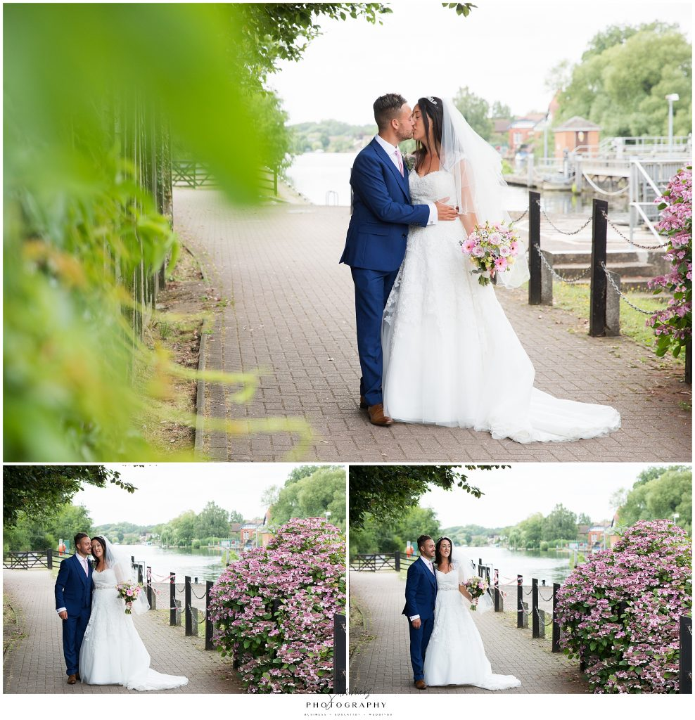 Berkshire Wedding Photographer - The Runnymede Hotel Surrey - Summer Wedding by the River Thames