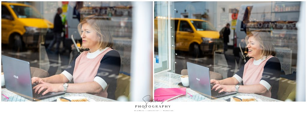 Personal Brand Photographer in Windsor Berkshire with Business Trainer Be Super Social