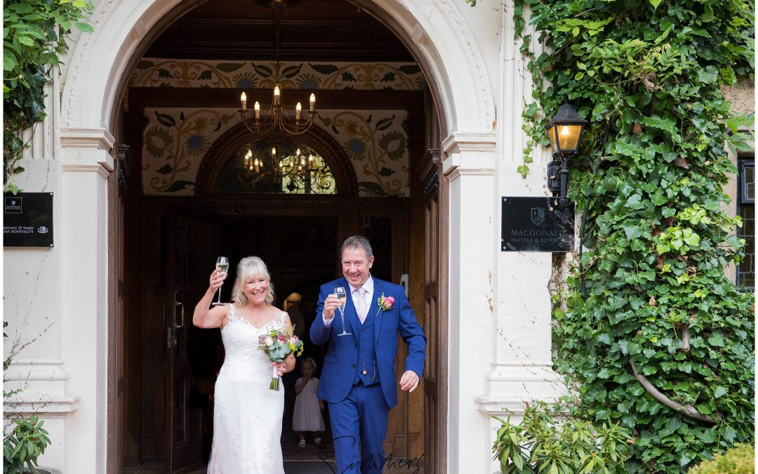Surrey Wedding Photographer | Frimley Hall Hotel intimate wedding