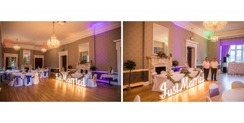 Berkshire Wedding Photographer at Easthampstead Park Hotel in Wokingham