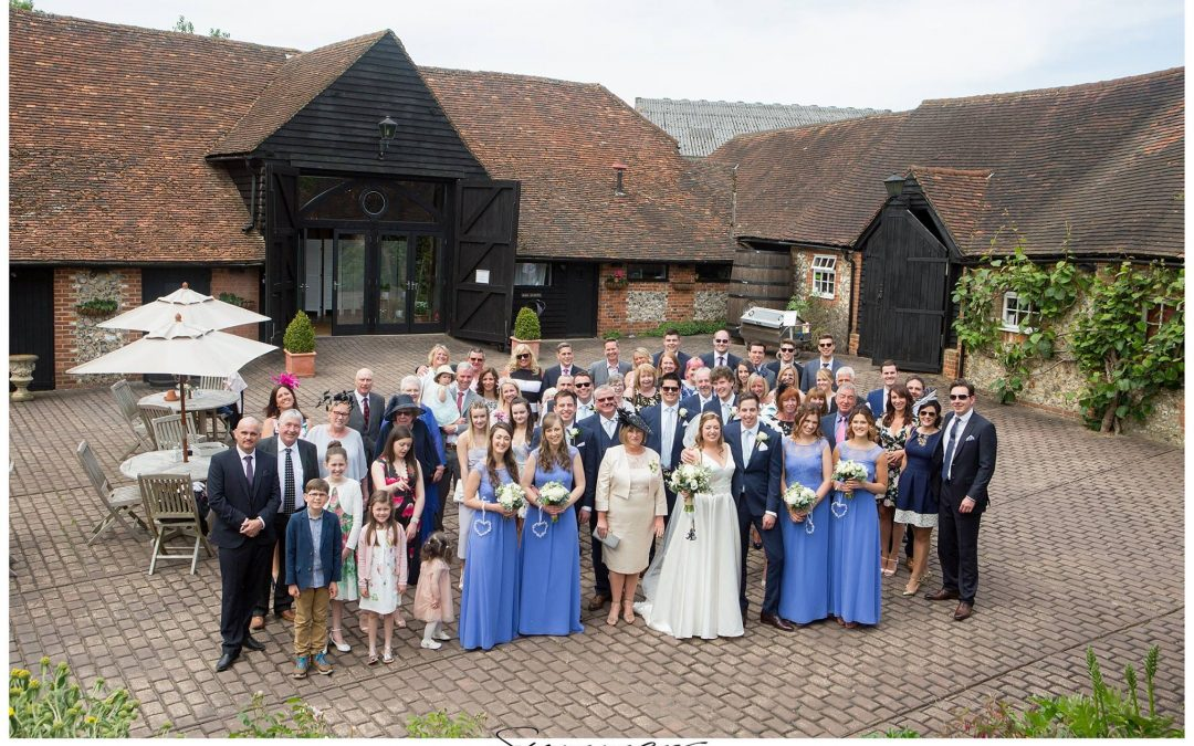 Old Luxters Barn & Brewery Wedding Photographer Henley – Steph & Graham