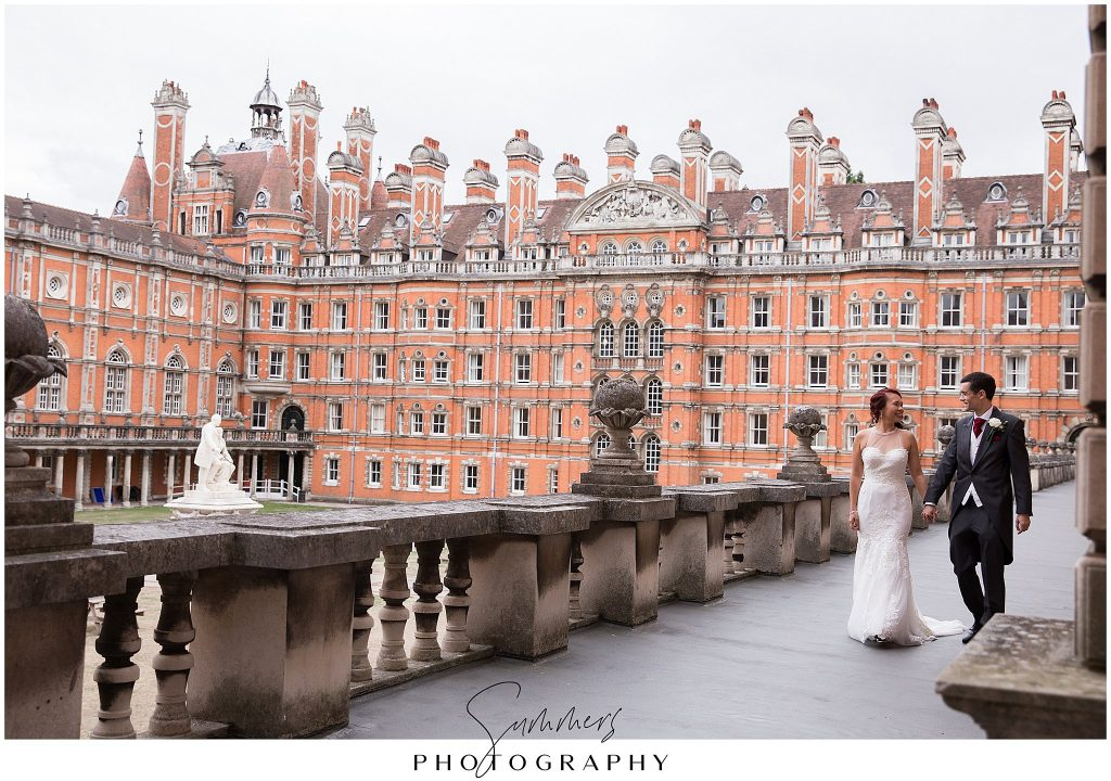 Royal Holloway Egham Wedding Photographer