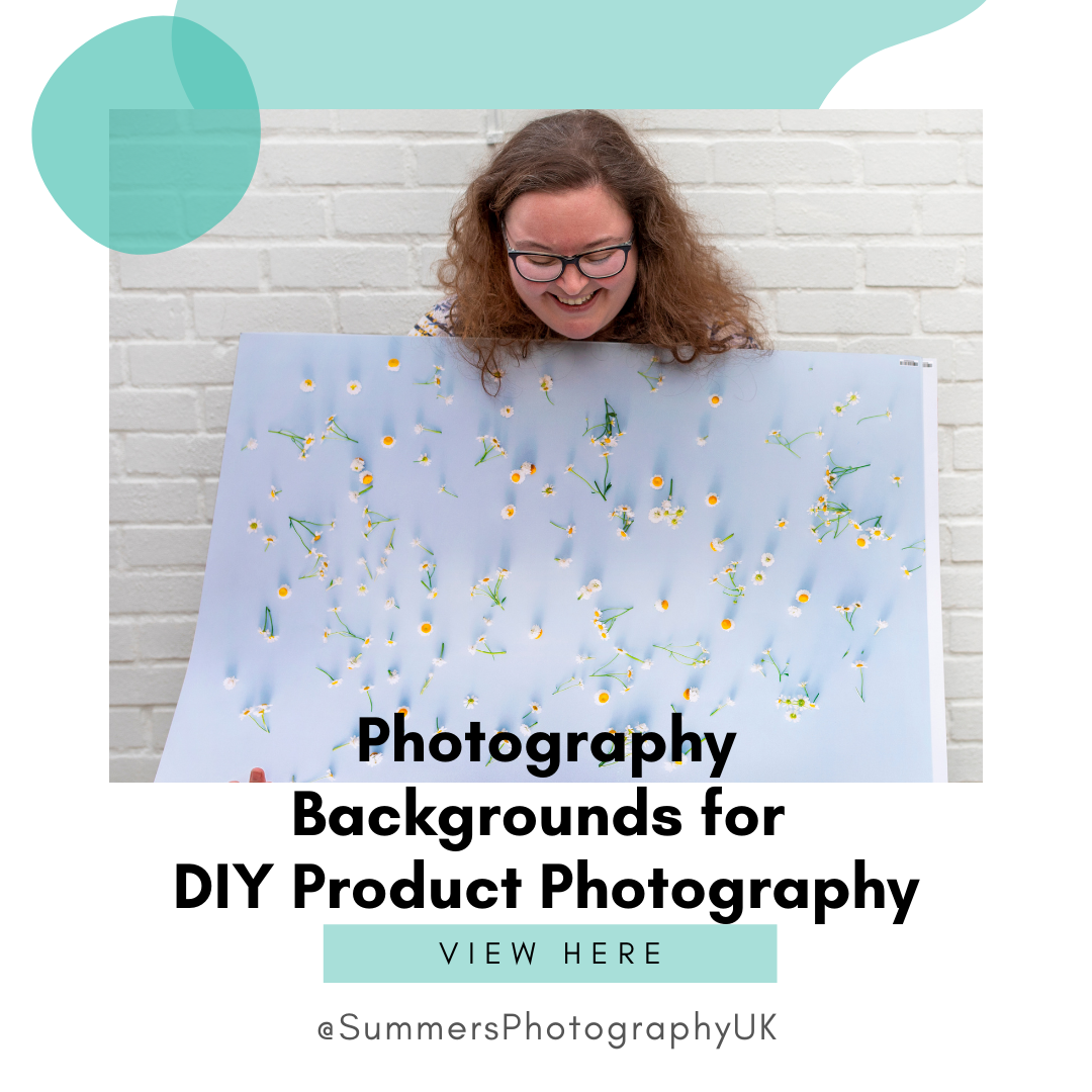 Photography backgrounds for DIY Product photography