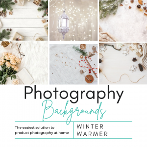 Winter Warmer Photography Background Set