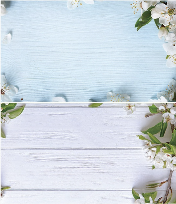 Spring Greens Photography Background Set