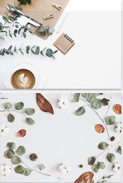 Autumn Coziness Photography Background Set